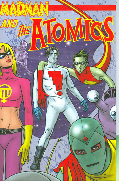 Image: Madman and the Atomics Vol. 01 SC  - Image Comics