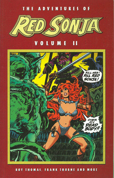 Image: Adventures of Red Sonja Vol. 02 SC  - D. E./Dynamite Entertainment