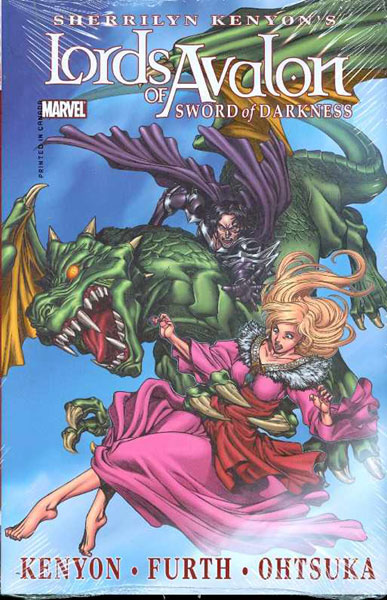 Image: Lords of Avalon: Sword of Darkness HC  (Alternate ed.) - Marvel Comics