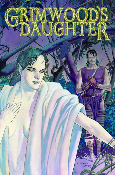 Image: Grimwoods Daughter HC  - IDW Publishing