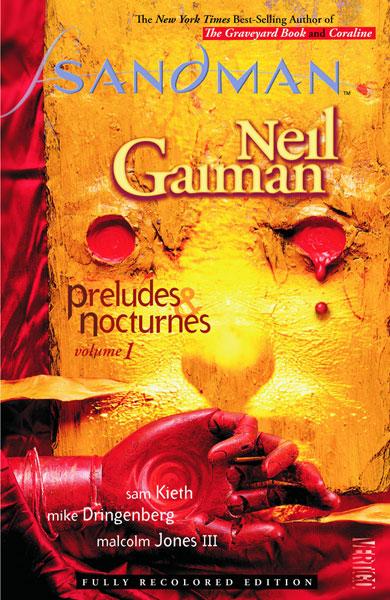 Sandman. One of the most popular titles from the Vertigo imprint