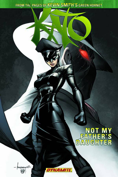 Image: Kato  [Kevin Smith] Vol. 01: Not My Father's Daughter SC - D. E./Dynamite Entertainment
