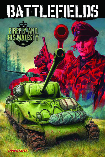 Image: Battlefields Vol. 05: The Firefly & His Majesty SC  - D. E./Dynamite Entertainment