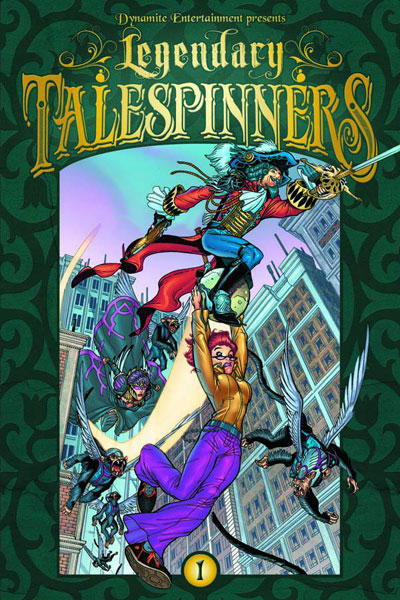 Image: Legendary Talespinners Vol. 01 SC  - Dynamite
