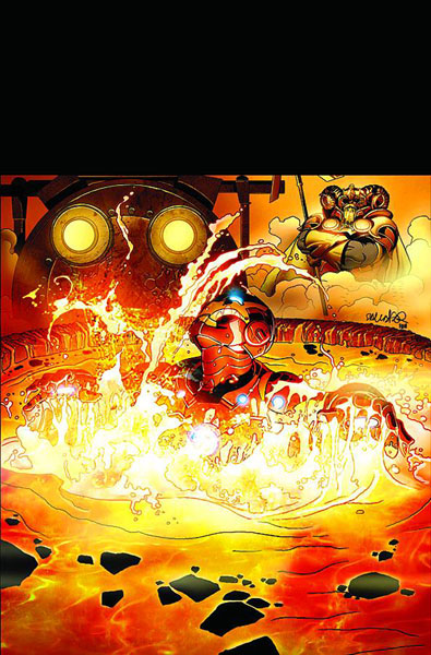 Image: Invincible Iron Man #508 - Marvel Comics