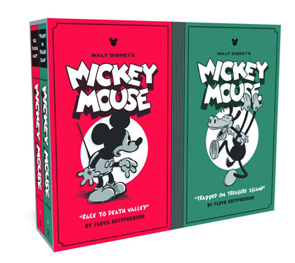 Image: Walt Disney's Mickey Mouse Box Set Vol. 01 & 02 HC  - Fantagraphics Books