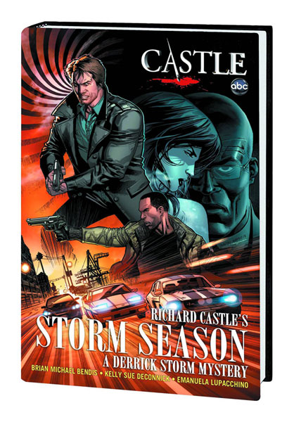 Image: Castle: Richard Castle's Storm Season HC  - Marvel Comics