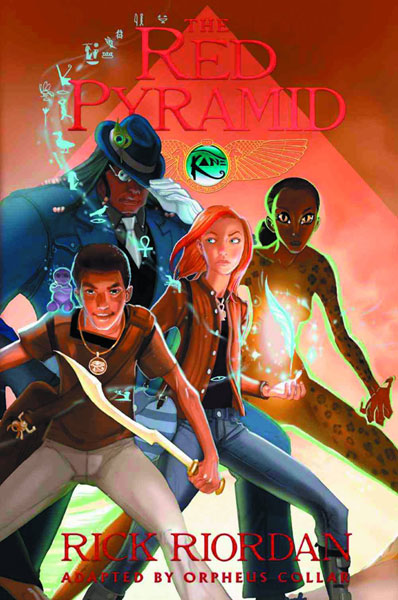 Image: Kane Chronicles Book 01: Red Pyramid GN  - Hyperion Books