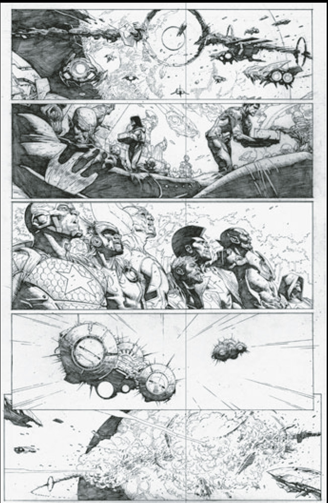 Infinity #3 (Lego Castellani variant cover - 00351) - Marvel Comics