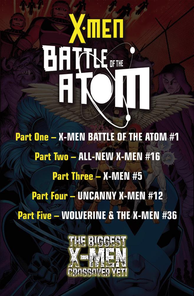 Uncanny X-Men #12 (Bachalo variant cover) - Marvel Comics
