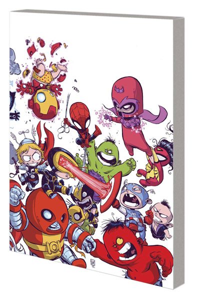 Image: Young Marvel: Little X-Men, Little Avengers, Big Trouble SC  - Marvel Comics