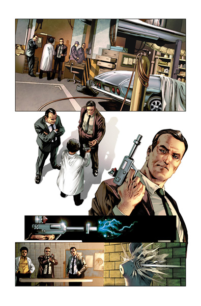 Codename: Action #1 (subscription variant cover) - Dynamite