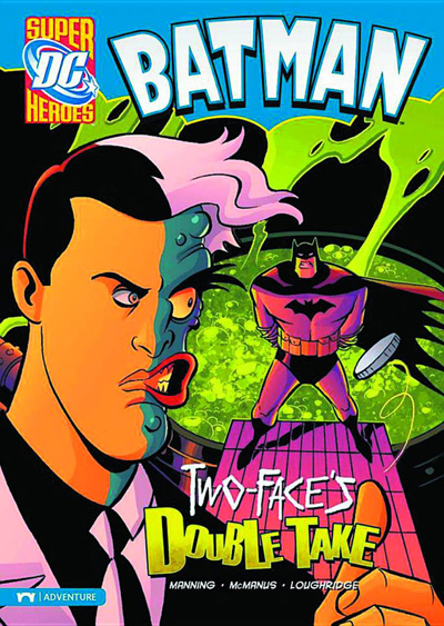 Image: DC Super Heroes Batman Young Readers: Two-Face's Double Take SC  - Capstone Press