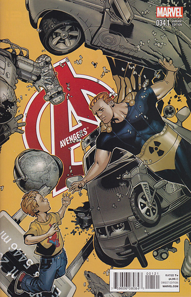 Image: Avengers #34.1 (variant cover - Bachalo) - Marvel Comics