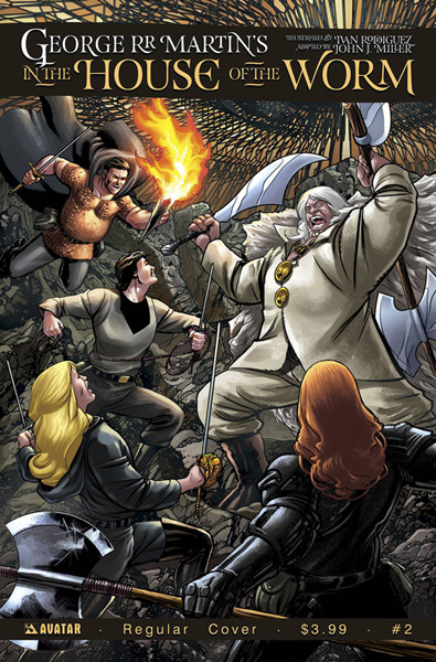Image: In the House of the Worm #2 - Avatar Press Inc