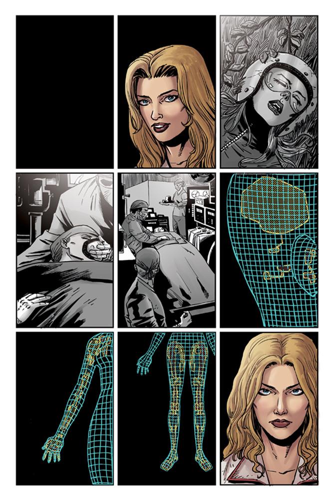 Bionic Woman: Season Four #1 - Dynamite