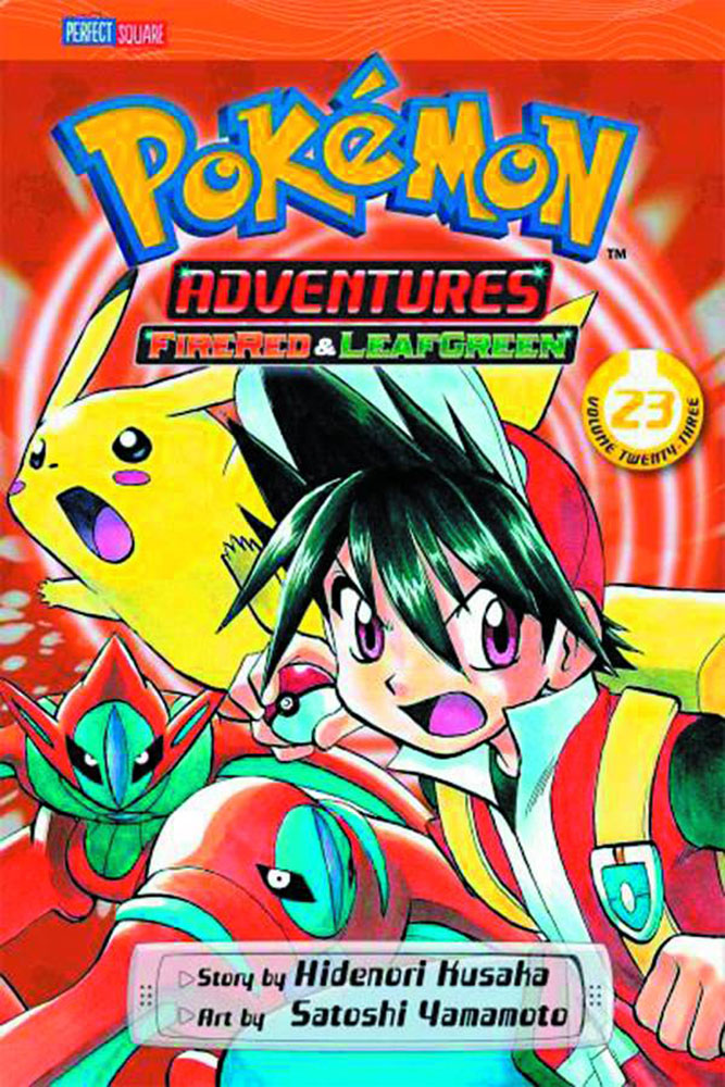 Image: Pokemon Adventures Vol. 24: FireRed & LeafGreen SC  - Perfect Square
