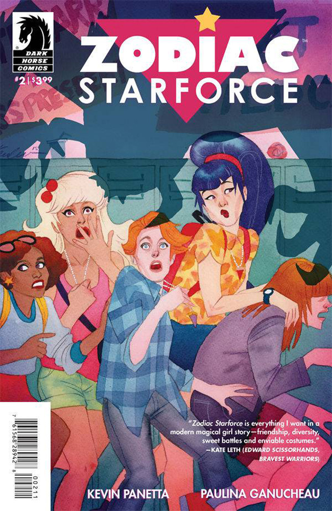 Image: Zodiac Starforce #2 - Dark Horse Comics