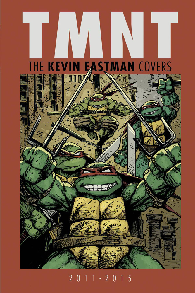 Image: Teenage Mutant Ninja Turtles: The Kevin Eastman Covers  (2011-2015) HC - IDW Publishing