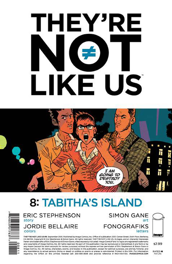 Image: They're Not Like Us #8 - Image Comics