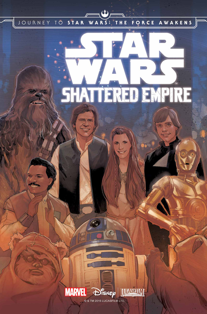 Image: Journey to Star Wars: The Force Awakens - Shattered Empire #1 - Marvel Comics