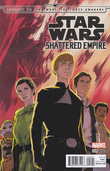 Image: Journey to Star Wars: The Force Awakens - Shattered Empire #2 (Anka variant cover - 00221) - Marvel Comics