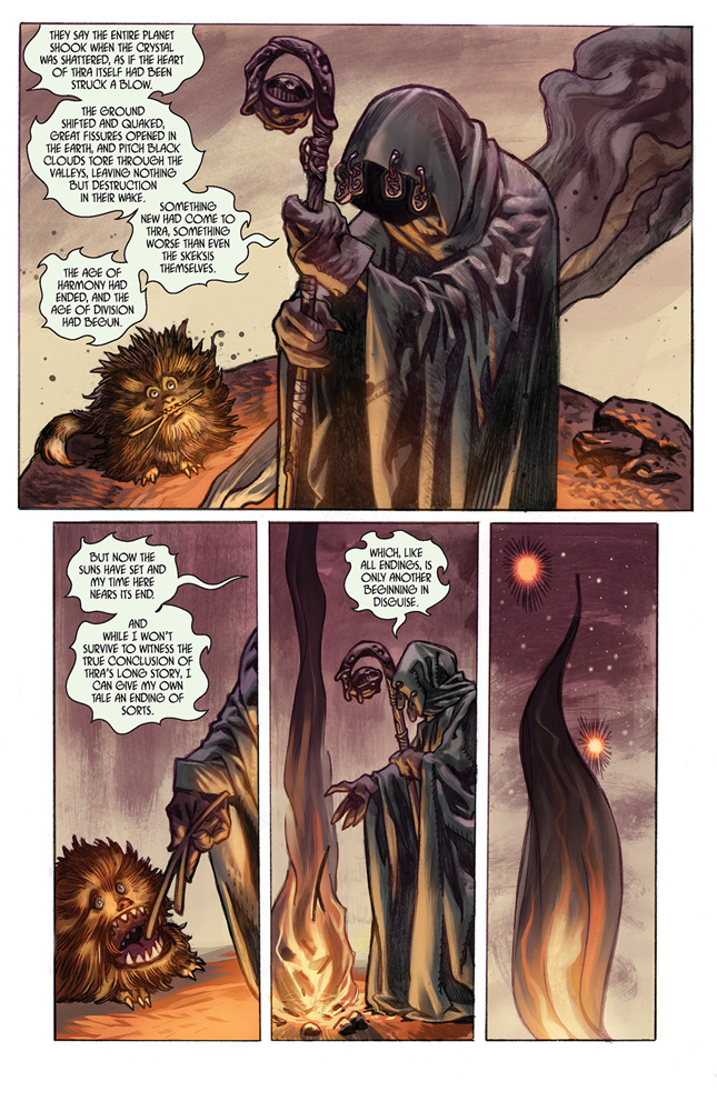 Jim Henson's The Dark Crystal Vol. 03: Creation Myths HC  - Boom! Studios