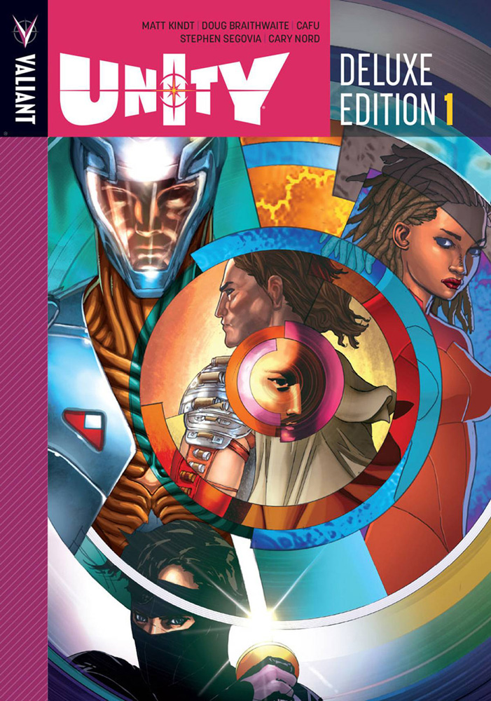 Image: Unity Deluxe Edition Vol. 01 HC  - Valiant Entertainment LLC