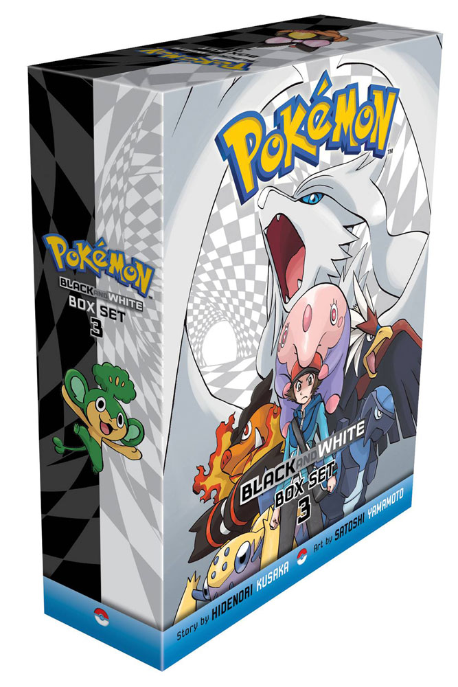 Image: Pokemon Black & White Box Set Vol. 03 GN  - Viz Media LLC