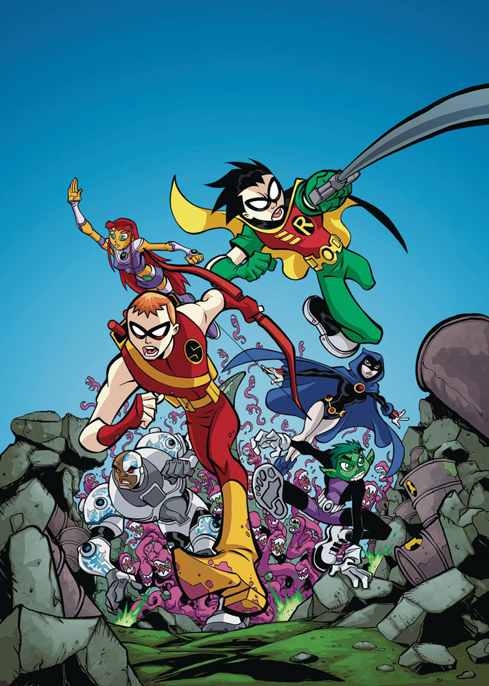 Image: Teen Titans Go!: Bring It On SC  (new edition) - DC Comics
