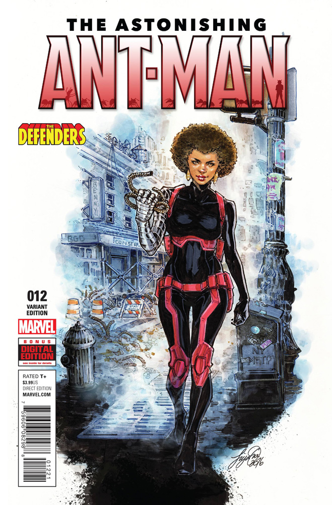 Image: Astonishing Ant-Man #12 (variant Defenders cover - Oum)  [2016] - Marvel Comics
