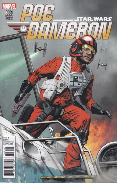 Image: Poe Dameron #6 (variant cover - Mayhew)  [2016] - Marvel Comics