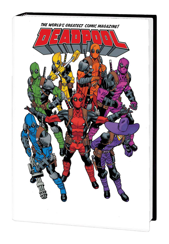 Image: Deadpool: World's Greatest Vol. 01 HC  - Marvel Comics