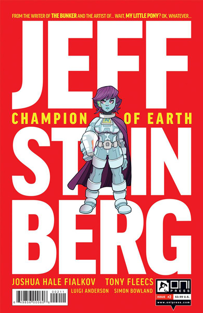 Image: Jeff Steinberg: Champion of Earth #2  [2016] - Oni Press Inc.
