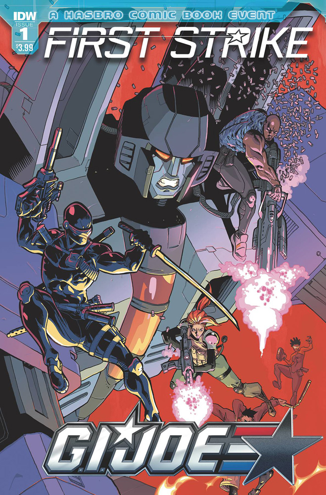 Image: G.I. Joe First Strike #1 (cover A - Johnson)  [2017] - IDW Publishing