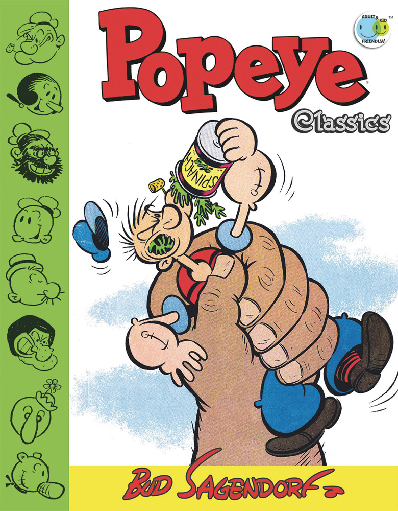 Image: Popeye Classics Vol. 11: The Giant and More! HC  - IDW Publishing