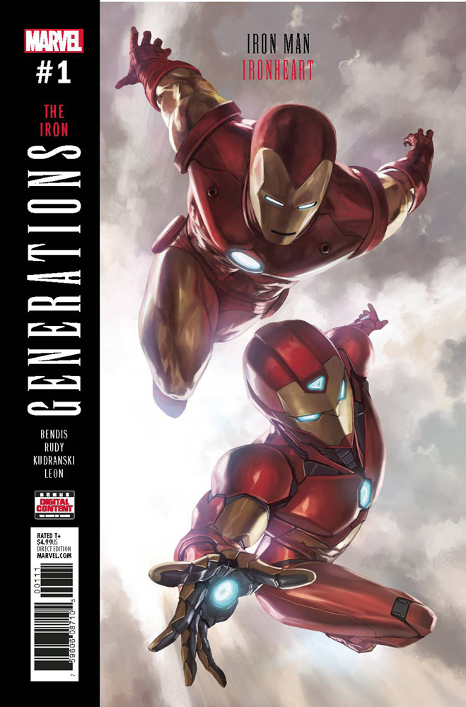 Image: Generations: Iron Man & Ironheart #1  [2017] - Marvel Comics