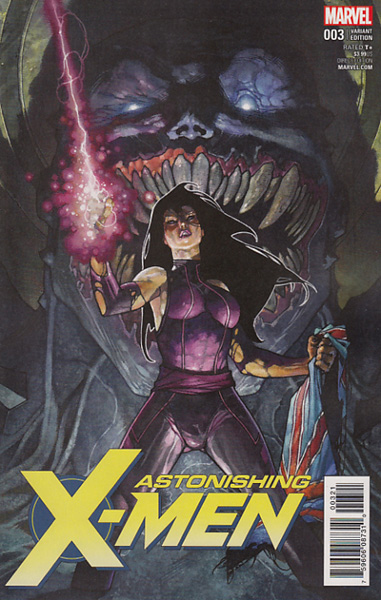 Image: Astonishing X-Men #3 (Bianchi variant cover - 00321)  [2017] - Marvel Comics