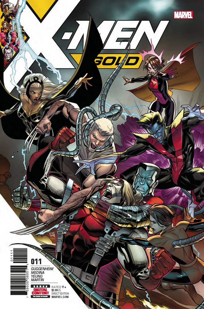 Image: X-Men Gold #11  [2017] - Marvel Comics