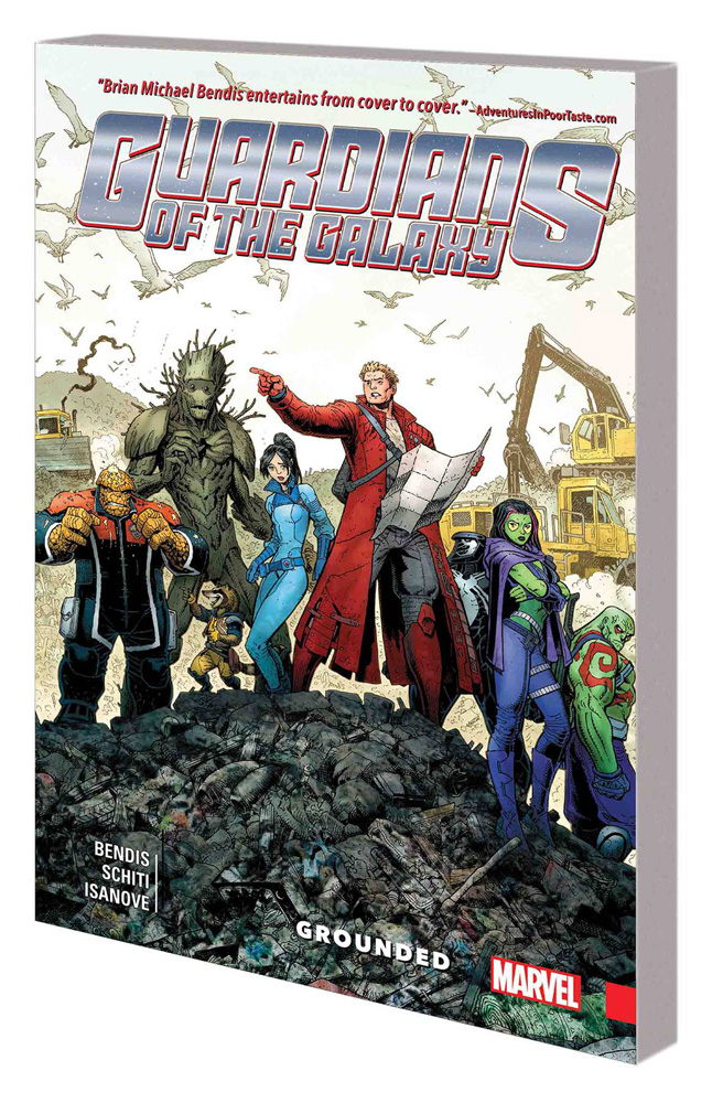 Image: Guardians of the Galaxy: New Guard Vol. 04 - Grounded SC  - Marvel Comics