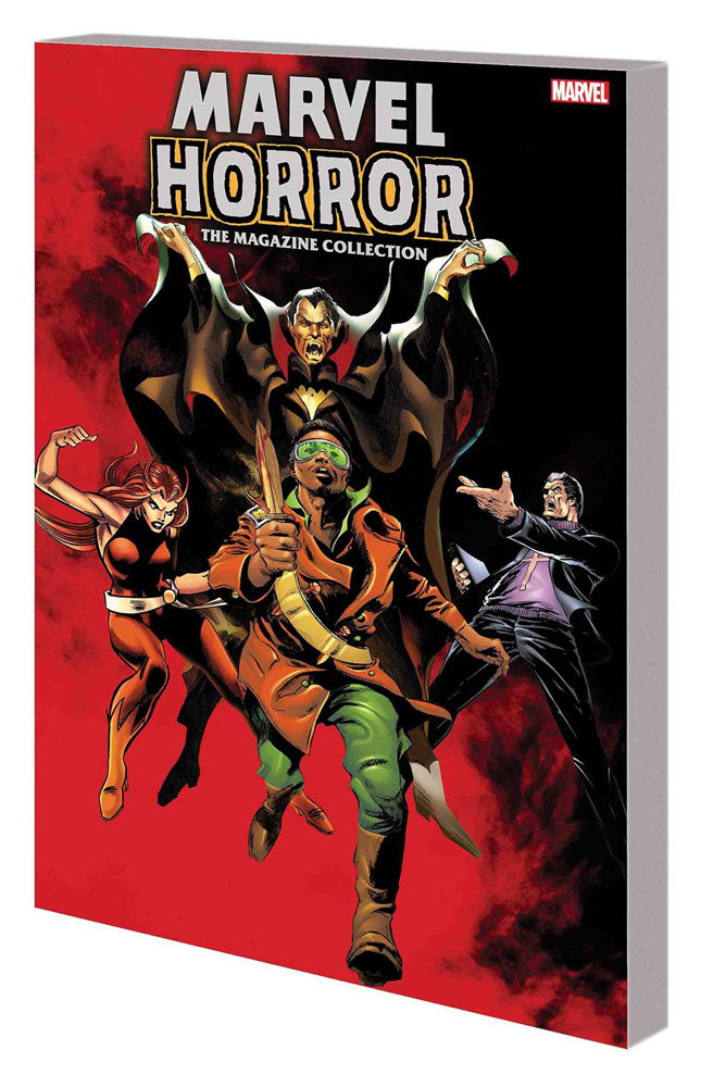 Image: Marvel Horror: The Magazine Collection SC  - Marvel Comics