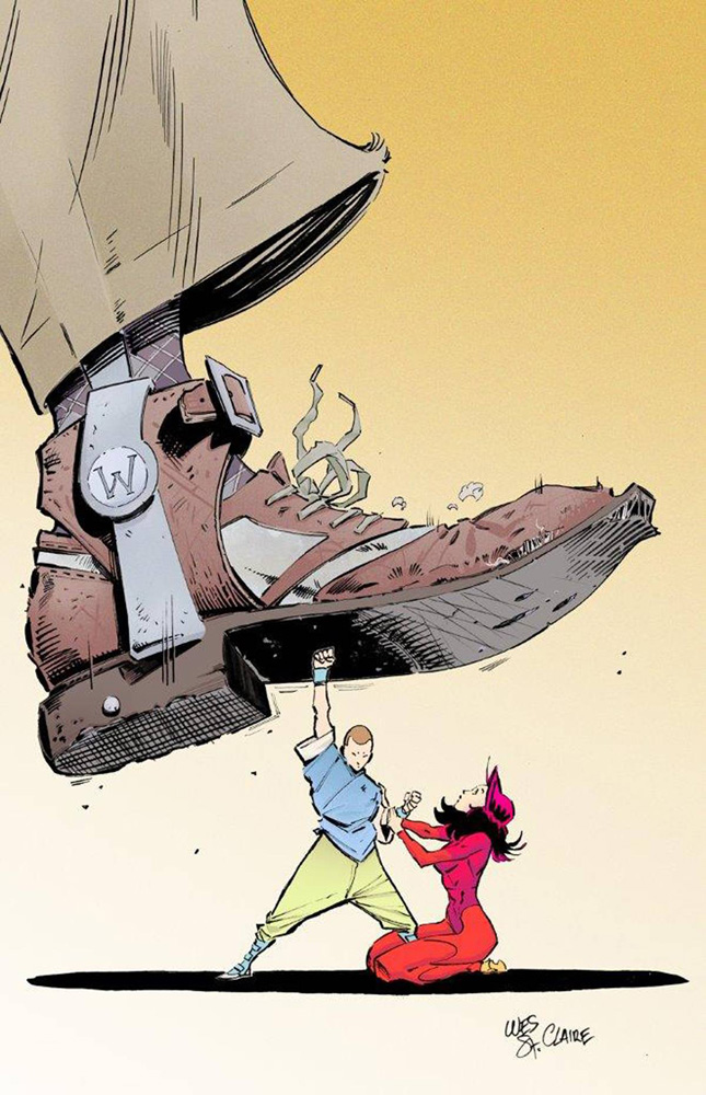Image: Fu Jitsu #1 (cover A - Wesley St.Claire)  [2017] - Aftershock Comics