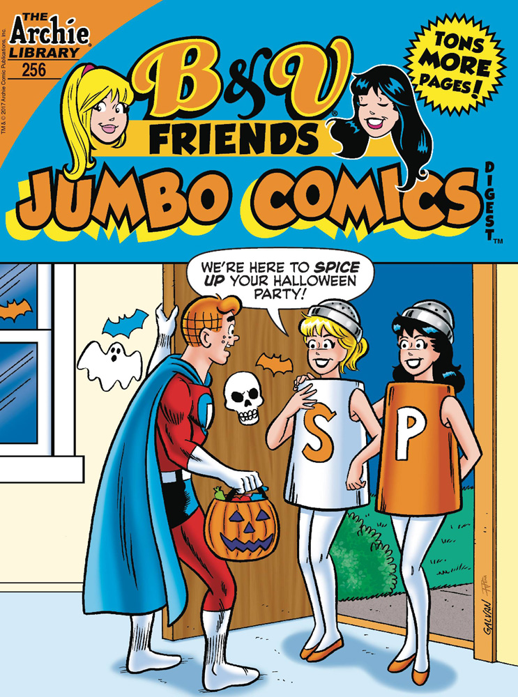 Image: B & V Friends #256 (Jumbo Comics) Double Digest - Archie Comic Publications