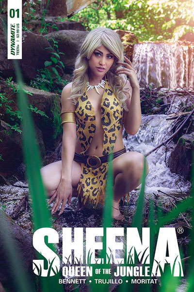Image: Sheena Queen of the Jungle #1 (cover E - Cosplay Photo)  [2017] - Dynamite