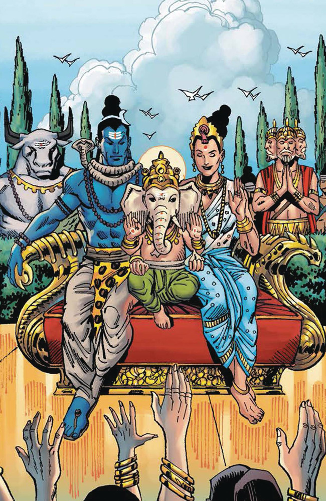 Image: Legends of the Eternal - The Myths of India Vol. 01 SC  - Graphic India Pte. Ltd