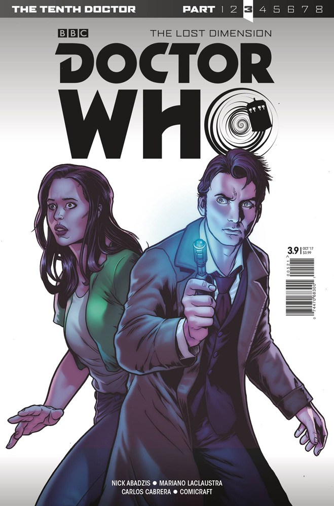 Image: Doctor Who: The 10th Doctor Year Three #9 (cover A - Bettin)  [2017] - Titan Comics