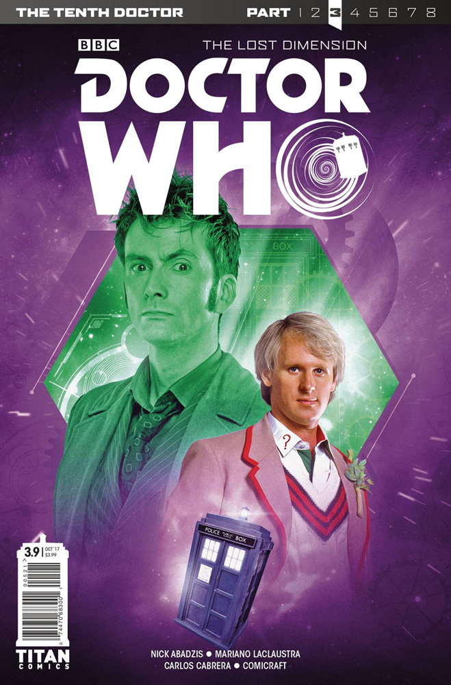 Image: Doctor Who: The 10th Doctor Year Three #9 (cover B - Photo)  [2017] - Titan Comics