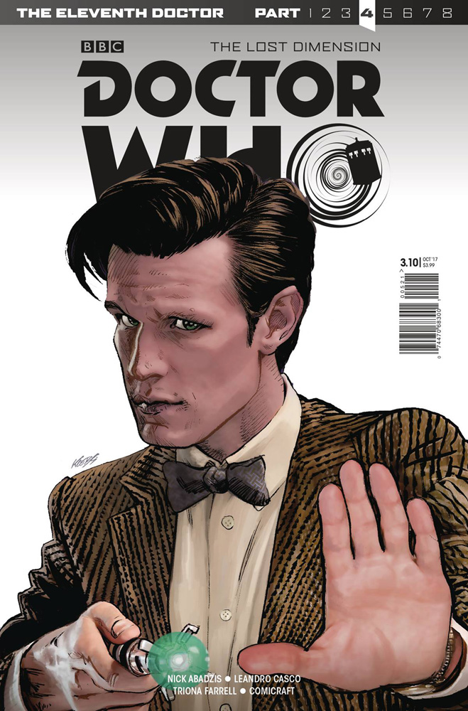 Image: Doctor Who: The 11th Doctor Year Three #10 (cover A - Klebs Jr.)  [2017] - Titan Comics