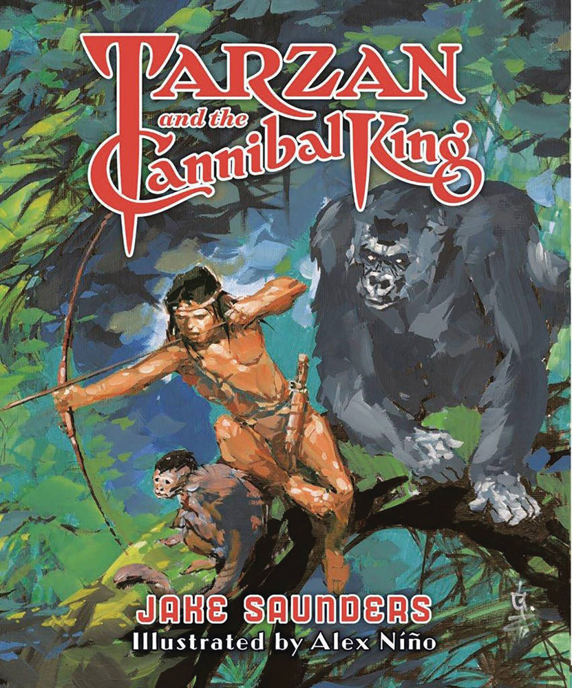 Image: Tarzan and the Cannibal King HC  - Erb Books