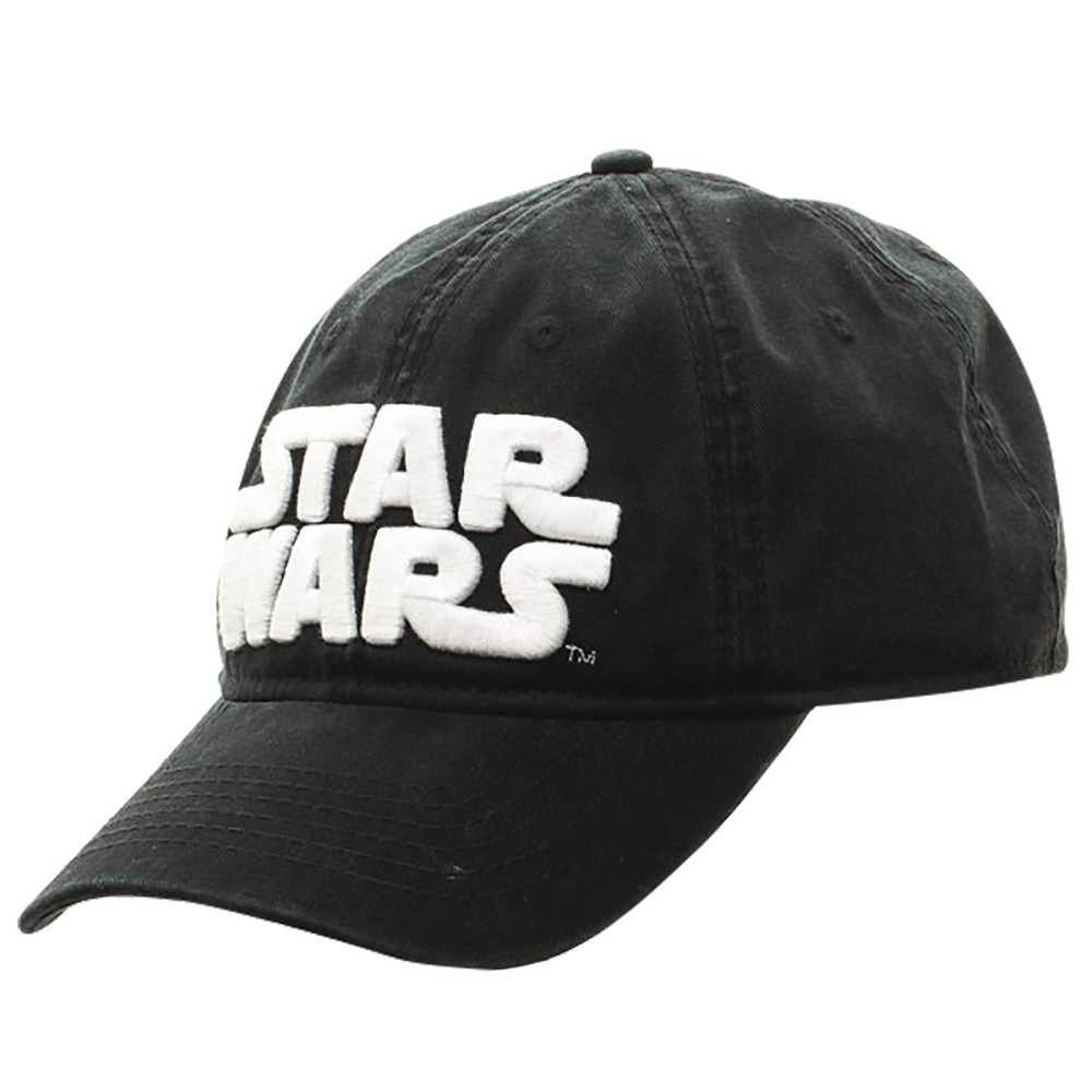 Image: Star Wars Logo Adjustable Baseball Hat  - Bioworld Merchandising